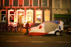 Nederland, Rotterdam, Museumnacht Goethe Institut. foto: Gerhard van Roon